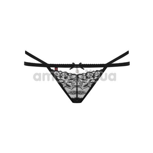 Трусики-стринги Obsessive 838-THO-1, черные