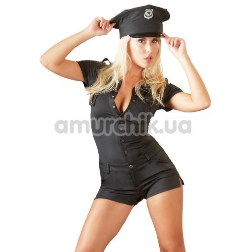 Костюм полицейской Cottelli Collection Costumes, чёрный - Фото №1