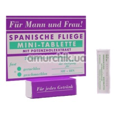 Афродизиак Spanische Fliege -  Шпанская мушка (мини таблетки)